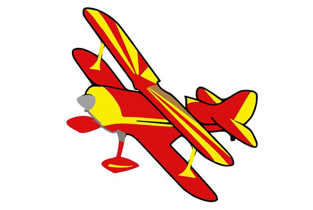 Cartoon Animation Wallpaper Free Download Biplane Plane Airplane 183 Free Vector Graphic On Pixabay