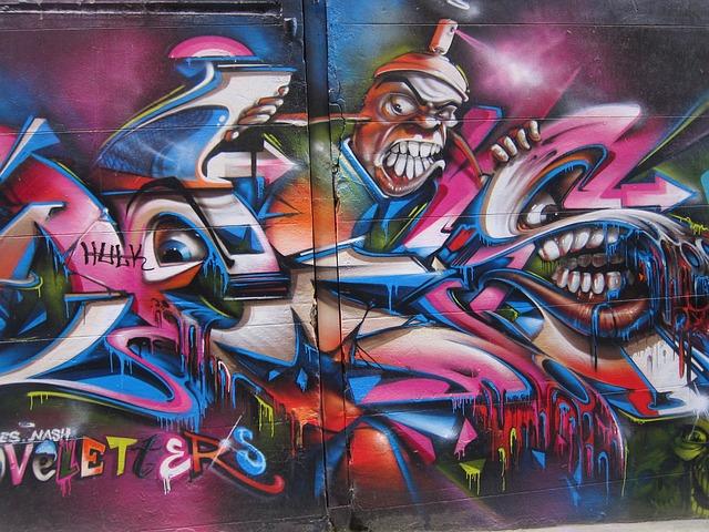 3d Street Art Graffiti Wallpaper Free Photo Graffiti Mural Melbourne Wall Free Image
