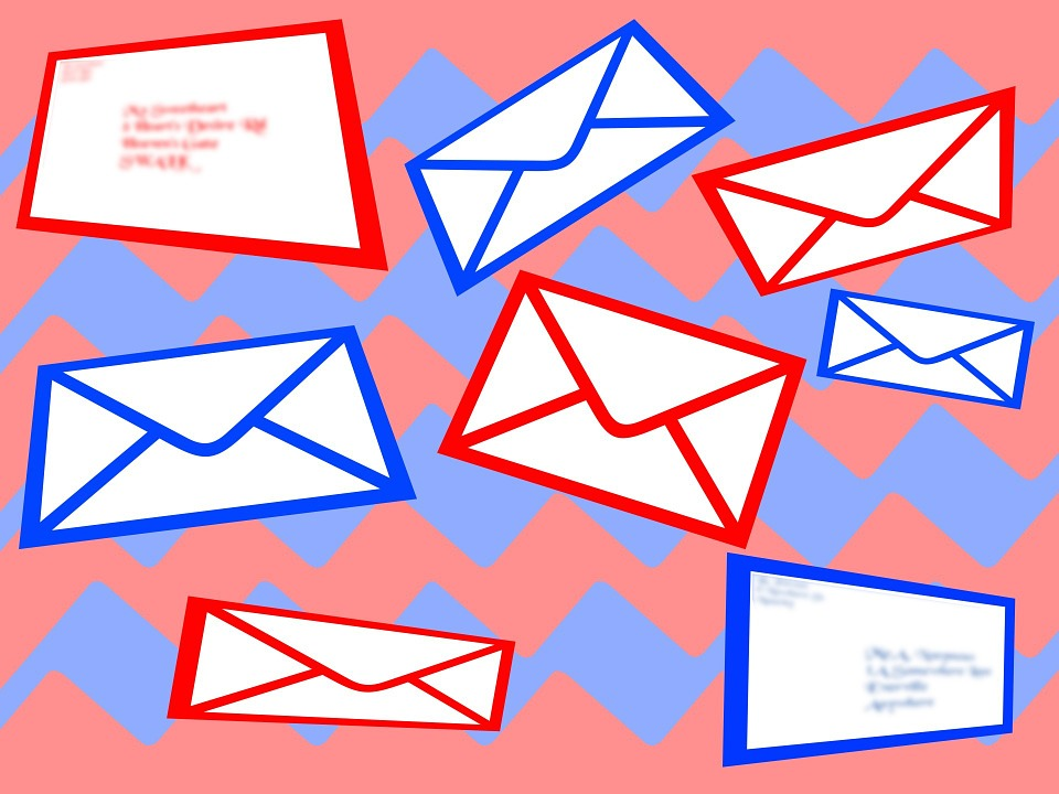 Letters Post Mail · Free image on Pixabay - mail background