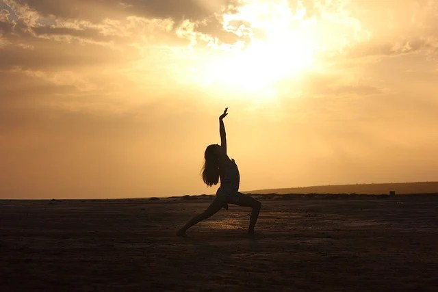 Silhouette Girl Real Wallpaper Sunset Dance 183 Free Photo On Pixabay