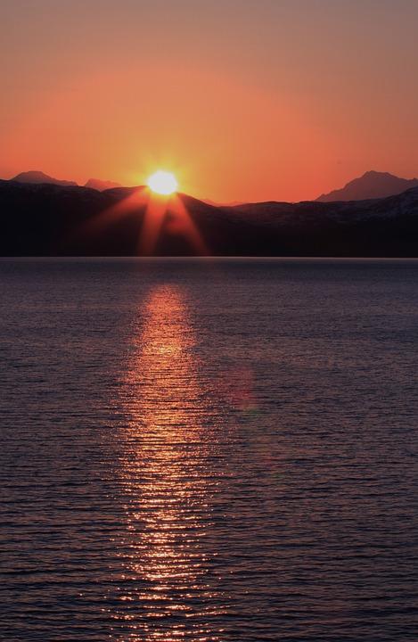 Animal Wallpaper Images Alaska Ocean Sunset 183 Free Photo On Pixabay