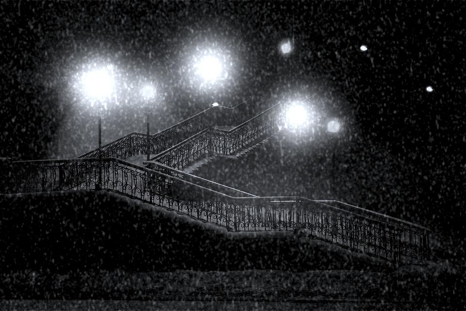 Free Falling Snow Wallpaper Download Free Photo Snow Lamp Posts Street Lamp Free Image On