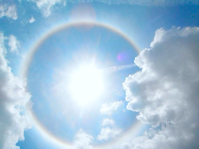 Hindu God Animation Wallpaper Free Free Photo Halo Sun Sky Light Sunlight Free Image