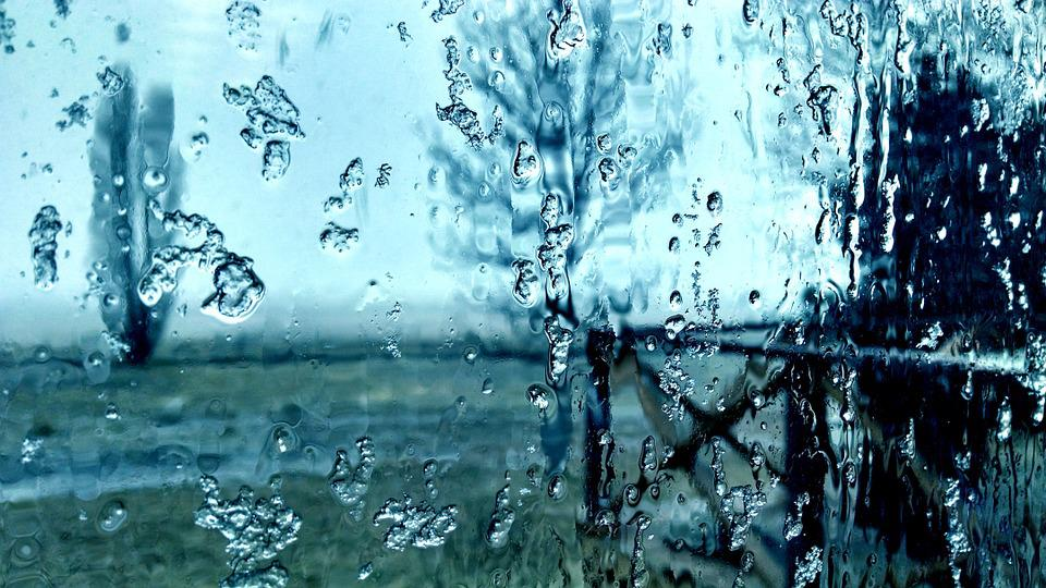 Rain Fall Hd Wallpaper Download Free Photo Frost Melting Window Glass Rain Free