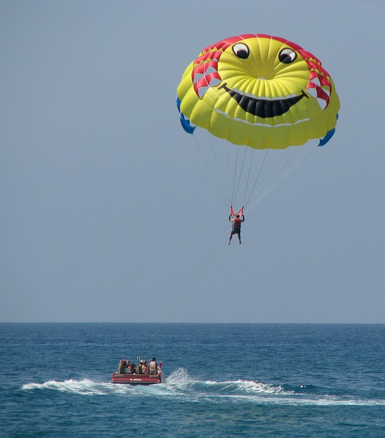 Wallpaper Bike And Girl Free Photo Paragliding Water Sports Sport Free Image