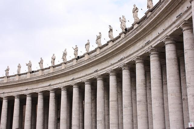 Sculpture Hd Wallpapers Free Photo Rome Vatican Columns Free Image On Pixabay