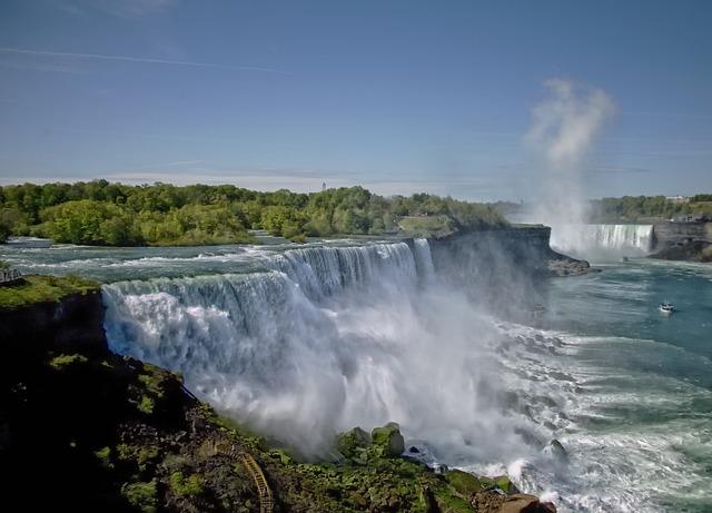 Free Wallpaper Niagara Falls Free Photo Niagara Falls Trees Water Free Image On