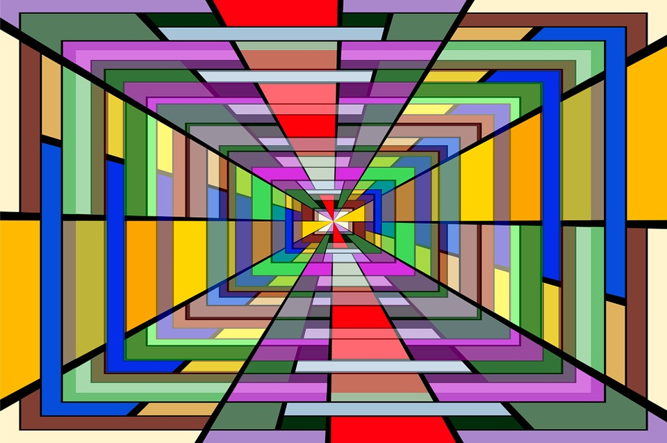 3d Rainbow Psychedeli Wallpaper Art Vanishing Point Vortex 183 Free Image On Pixabay