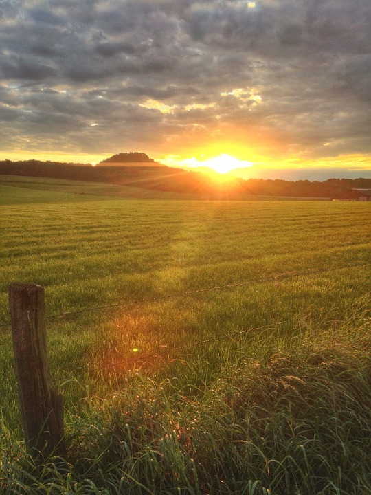 Country Girl Wallpaper Free Photo Sunset Fields Late Summer Summer Free