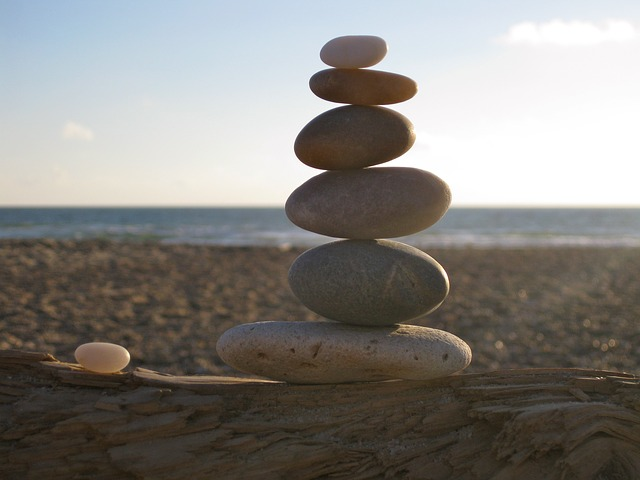 Rumi Quotes Wallpaper Free Photo Balance Stones Stacked Sea Free Image On