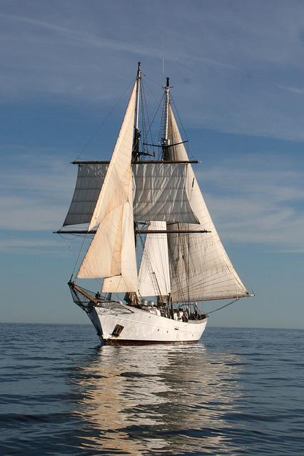 Travel Vacation Free Photo: Clipper, Sail, Boat, Ocean, Sea - Free Image