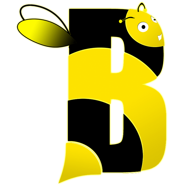 Cute Bees Wallpaper Bee Letter B 183 Free Image On Pixabay