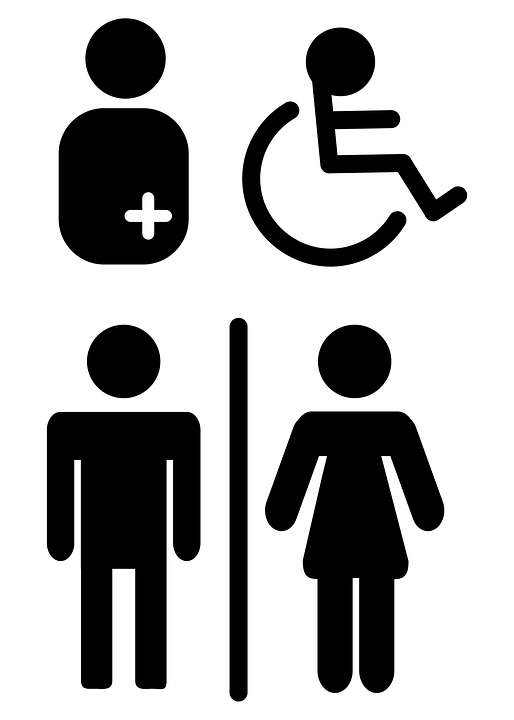 Wc Symbol Wc Mark Toilet People With · Free Image On Pixabay