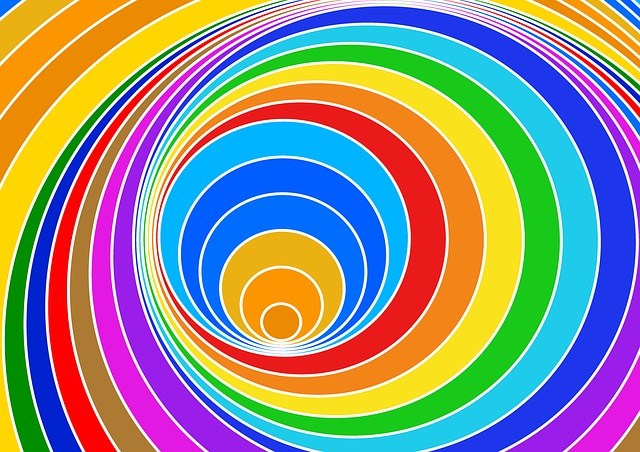 Abstract Vector Wallpaper Hd Free Illustration Spiral Eddy Color Vortex Strudel