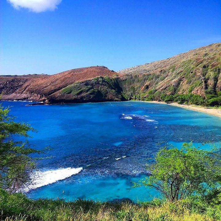 Hd Wallpaper Sea Beach Bay Nature Hawaii 183 Free Photo On Pixabay