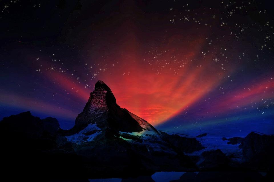 Dream Quotes Wallpaper 1080p Free Photo Matterhorn Swiss Fantasy Free Image On