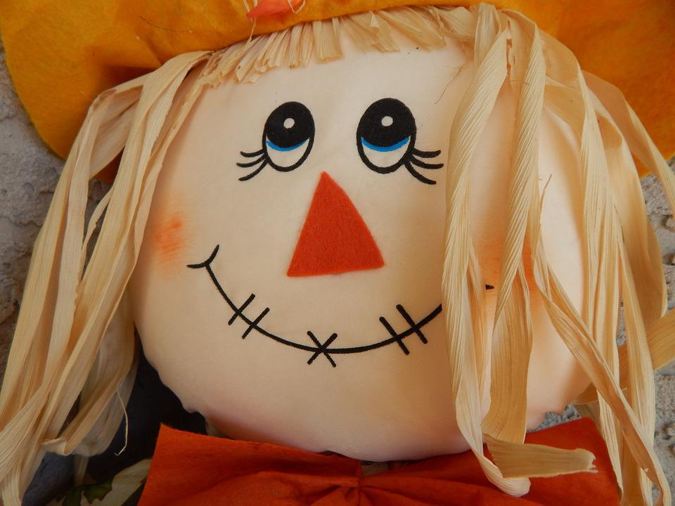 Fall Pictures For Computer Wallpaper Free Photo Scarecrow Doll Face Head Free Image On