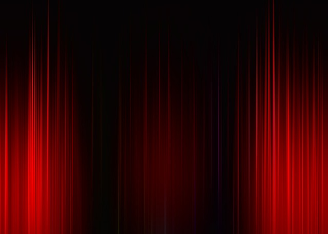 Girl Wallpaper Hd Free Illustration Theater Cinema Curtain Stripes