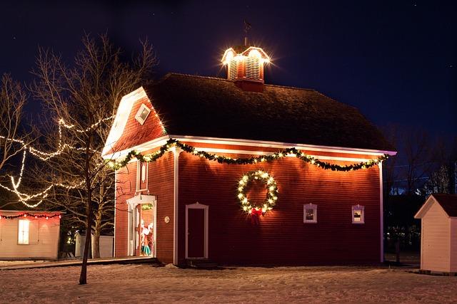 S Animation Wallpaper Free Photo Christmas House Night Xmas Lights Free