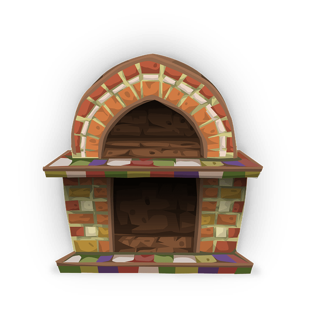 Holzstapel Clipart Free Vector Graphic: Fireplace, Heat, Cozy, Living Room