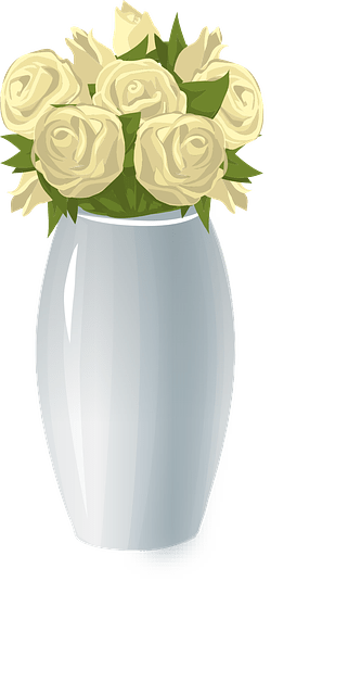 Pot Girl Wallpaper Free Vector Graphic Roses Vase Flowers Floral Bloom