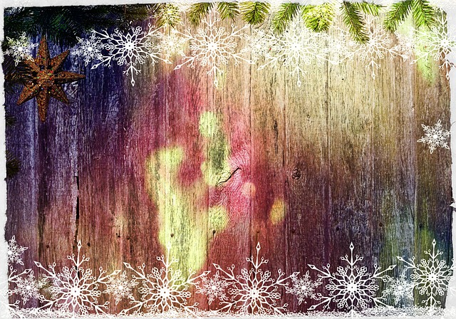 Black Wood Wallpaper Free Illustration Winter Christmas Wall Boards Free