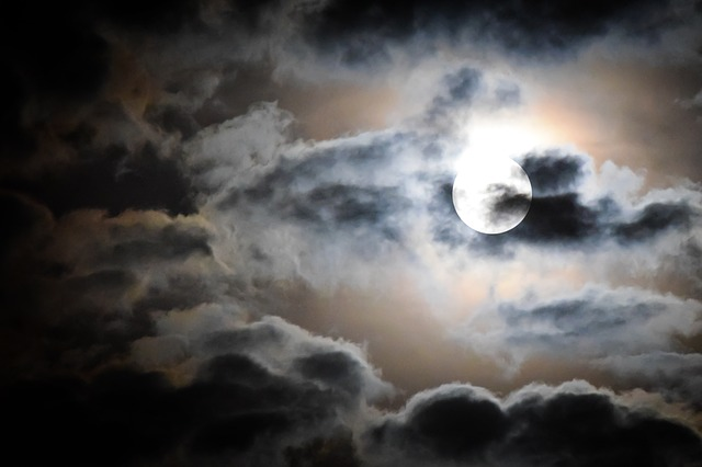 Cloudy Weather Hd Wallpapers Free Photo Full Moon Moon Moonlight Sky Free Image
