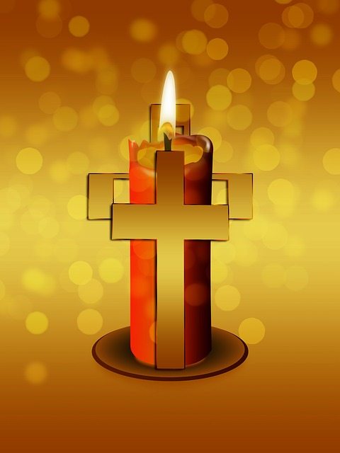 Download Hd Christmas Wallpapers Candle Cross Religion 183 Free Image On Pixabay