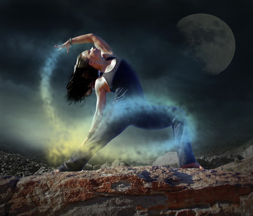 Alone Hd Wallpapers 1080p Free Photo Yoga Dancer Woman Night Mystic Free