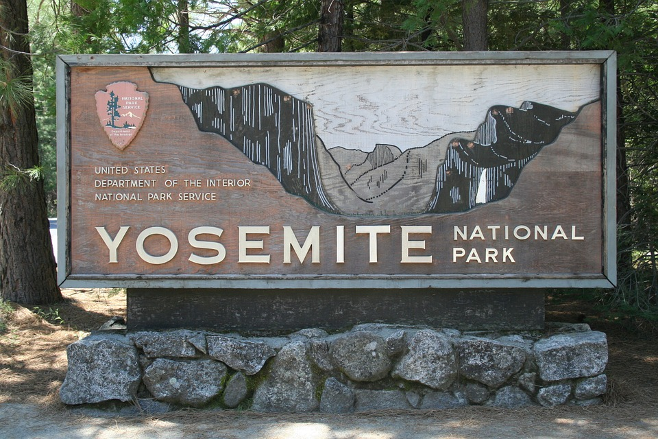 Girl Night Wallpaper Sign National Park Yosemite 183 Free Photo On Pixabay