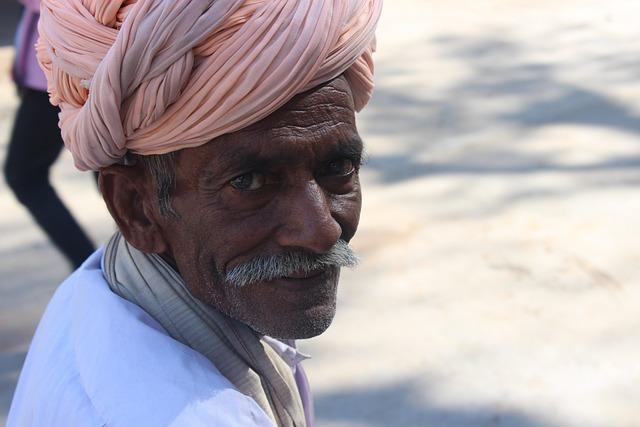 Indian Culture Wallpaper Hd Free Photo Old Man Turban Folk Rajasthan Free Image