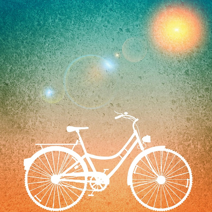 Girl Wallpaper Beach Free Illustration Background Sun Bike Free Image On