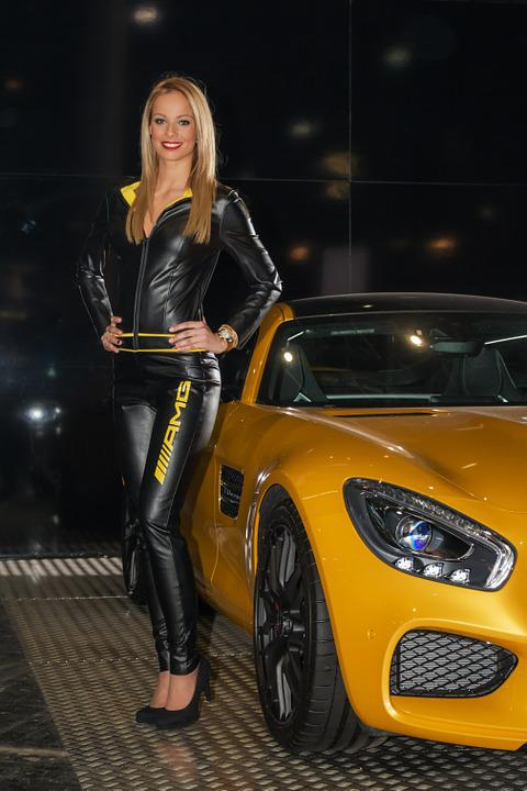 Muscle Car Hd Wallpapers 1080p Free Photo Mercedes Mercedes Amg Gt Girl Free Image