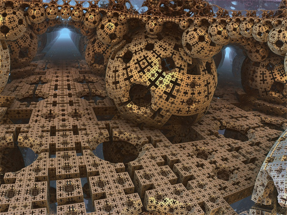 3d Animation Animals Wallpaper Free Illustration Menger Sponge Ball Sphere Free