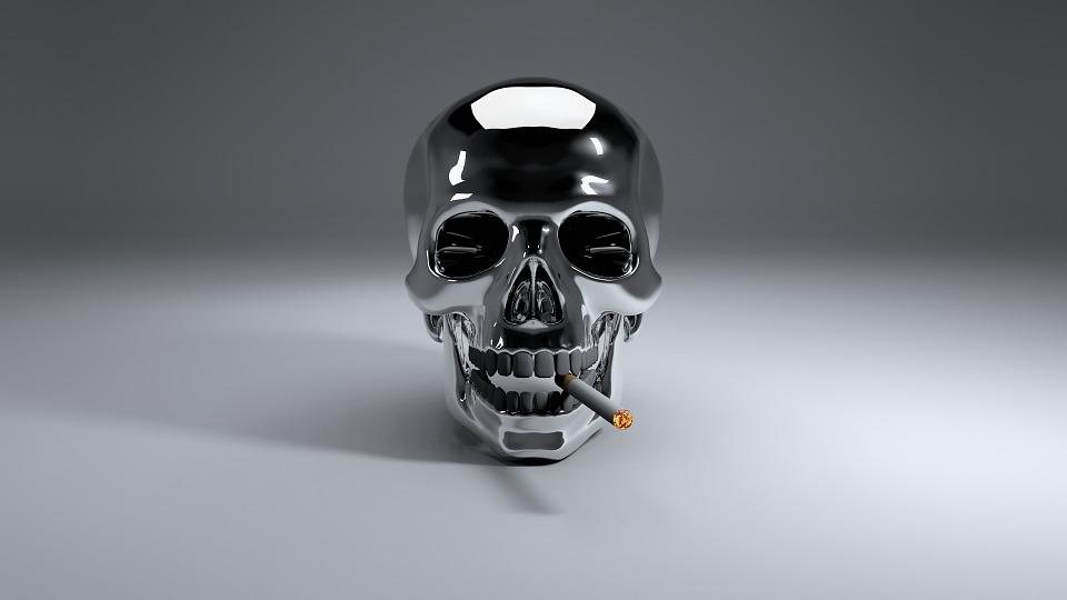 Download Wallpaper Cartoon 3d Free Illustration Smoking Cigarette Non Smoking Free