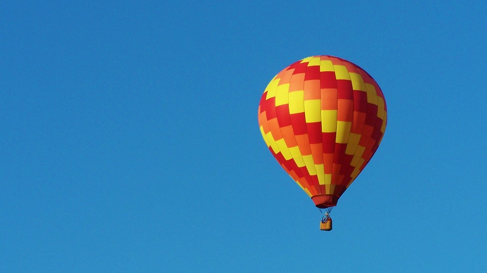 Cute Sky Blue Wallpaper Free Photo Hot Air Balloon Blue Sky Fun Free Image On