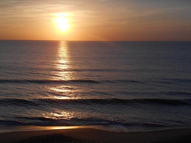 Wallpaper 1920x1080 Girl Sunrise Sea Beach 183 Free Photo On Pixabay