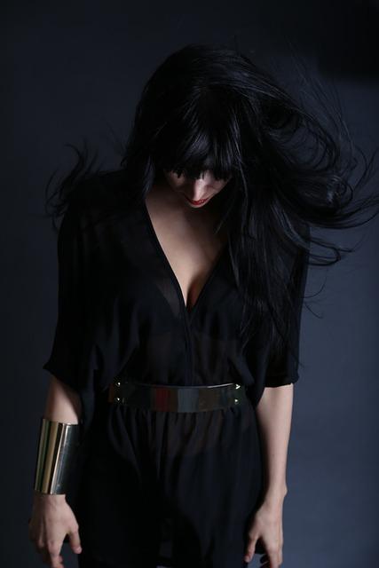 Beautiful Emo Girl Wallpaper Free Photo Woman Girl Person Figure Dark Free Image