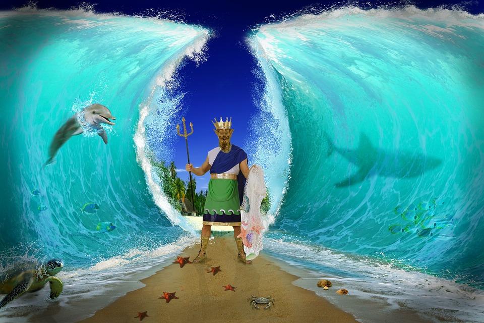 Funny Girl Wallpaper Images Free Illustration Sea Fantasy Water Sky Mood Free