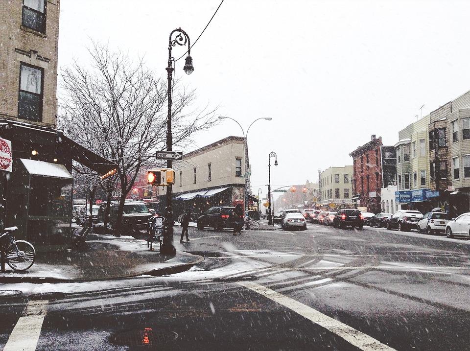 Snow Falling Wallpapers Free Download Free Photo Urban Scene Winter Snow Falling Free