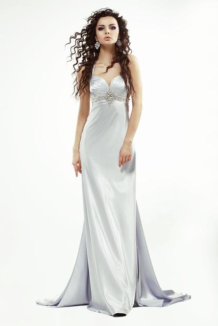 Beautiful Girl With Rose Wallpaper Free Photo Dress Long Woman Clothing Night Free