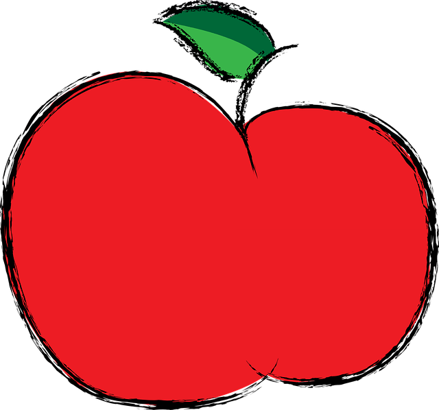 Cute Cartoon Animal Wallpaper Apple Red Fruit 183 Free Vector Graphic On Pixabay