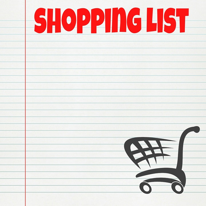 Shopping List · Free image on Pixabay