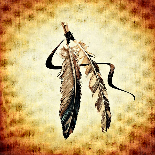 Indian Culture Wallpaper Hd Free Illustration Feather Indian Brown Free Image On
