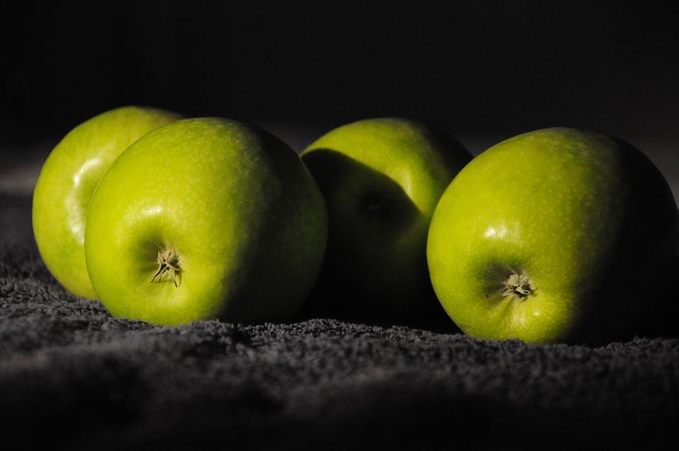 Hd Pot Wallpaper Free Photo Green Apples Chiaroscuro Free Image On