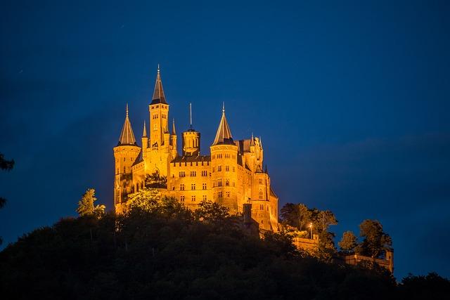 Wallpaper Phone 3d Castle Hohenzollern Night 183 Free Photo On Pixabay