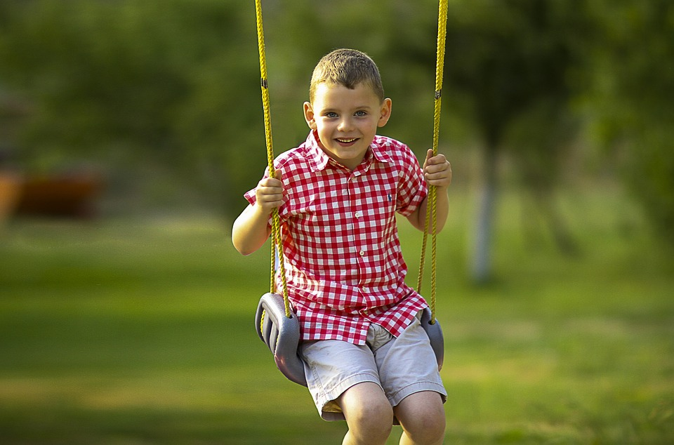 Cute Small Girl Wallpapers For Facebook Boy Swinging Playing 183 Free Photo On Pixabay