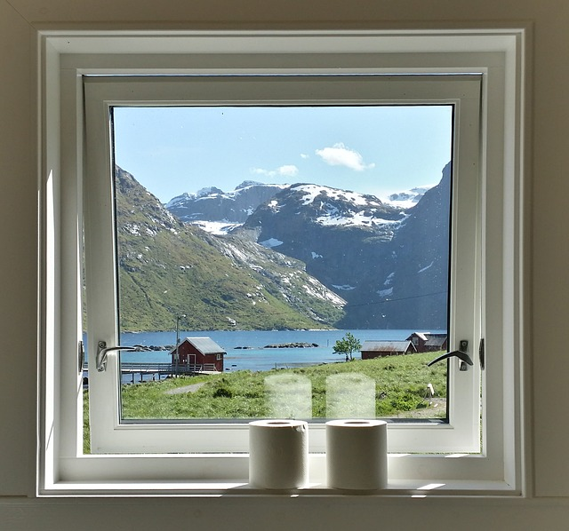 3d Computer Graphics Wallpaper Free Photo Window View Norway Outlook Free Image On
