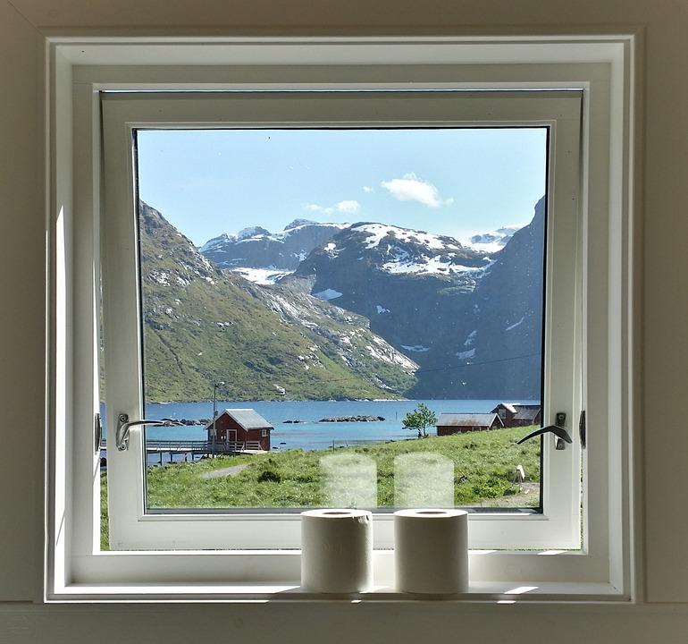 Glitter Wallpaper Hd Kostenloses Foto Fenster Aussicht Norwegen