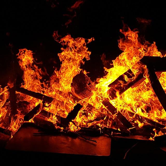 Full Hd Wallpapers 1080p Desktop Free Photo Bonfire Fire Embers Burn Flames Free
